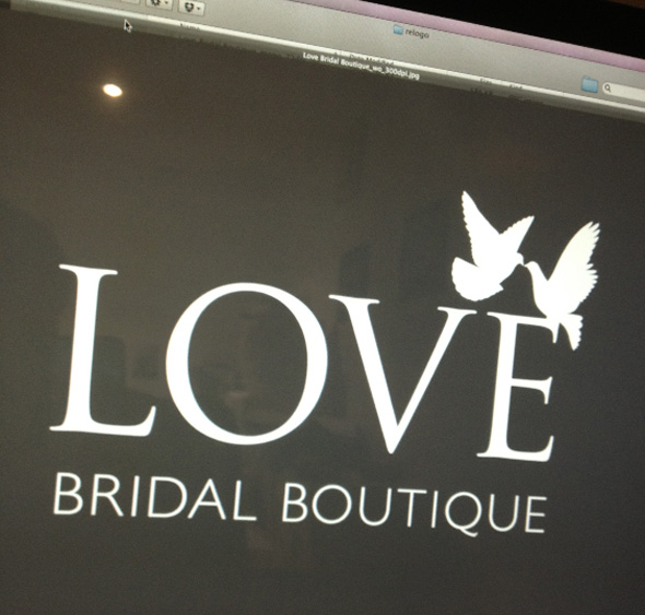 The LOVE Brida logo