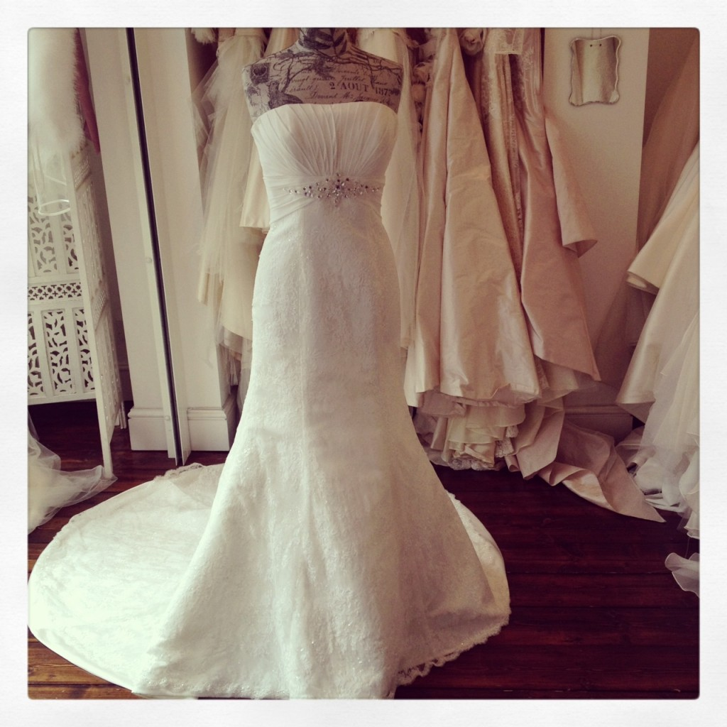 'Savoy' by Heritage Bridal WAS £1,365 NOW £700