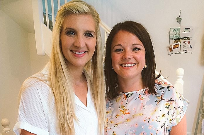 An Olympic LOVE Bridal Boutique Bride – the lovely Rebecca Adlington!
