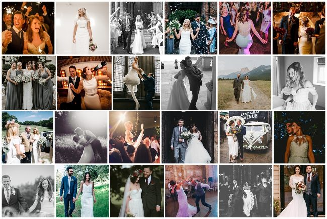 Images of 2017 brides